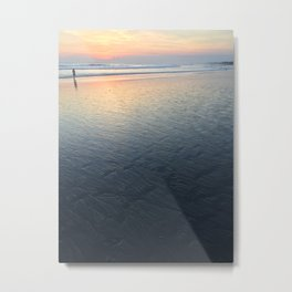 Sunset Water Reflections Metal Print