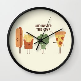 Party Crasher Wall Clock