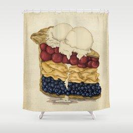 American Pie Shower Curtain