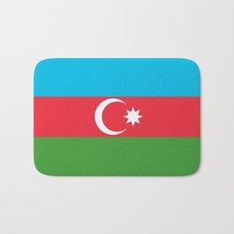 Azerbaijan National Flag Bath Mat