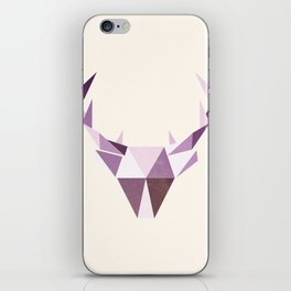 Polydeer in Space iPhone Skin
