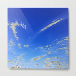 Fly, in the sky, like a butterfly ... Metal Print