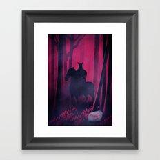 Dangerous Date Framed Art Print