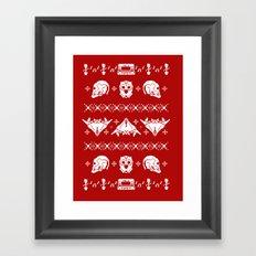 Merry Christmas A-Holes Framed Art Print