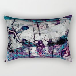 Within This Strange And Frightening World Rectangular Pillow