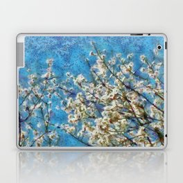 Blossom and Blue Sky In Monet Style Laptop & iPad Skin