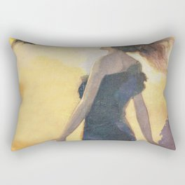 The Butterfly Rectangular Pillow