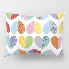 love heart pattern Pillow Sham