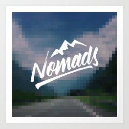 Nomads Art Print