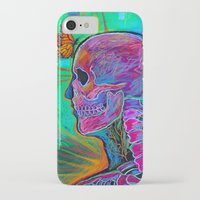 psychology iPhone & iPod Cases featuring Reverse Psychology by RandyConnerPaintings