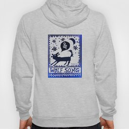 Wolf Song Rev Blue Hoody