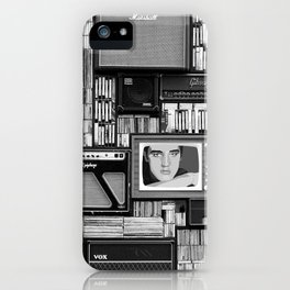 Vintage music iPhone Case