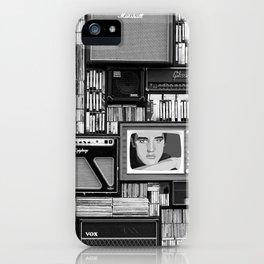 Vintage music iPhone Case