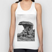 conan Tank Tops featuring Rock by Julio O. Herrmann