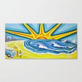 Surfers Summer Days Canvas Print