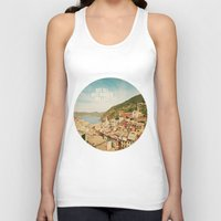 not all who wander are lost Tank Tops featuring Not All Who Wander Are Lost by happeemonkee