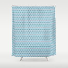 Pop Art Polka Dots Shower Curtain