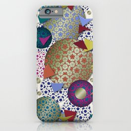 Penrose Tiling Inspiration iPhone Case