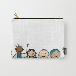Smiling faces Carry-All Pouch