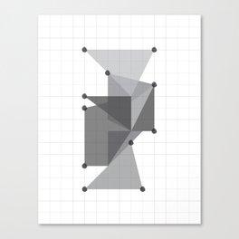 Galaxy Polygons XXII Canvas Print