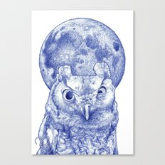Midnight owl Canvas Print