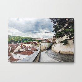 Street of Prague Metal Print