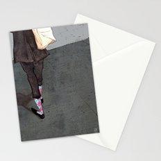 Argyle Socks by Kat Mills Stationery Cards