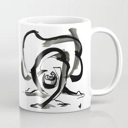 Expressive Ballerina Dance Drawing Coffee Mug