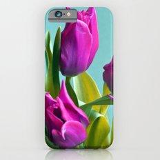 MAGIC PINK TULIPS iPhone 6 Slim Case
