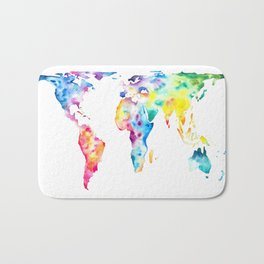 Gall–Peters projection Bath Mat