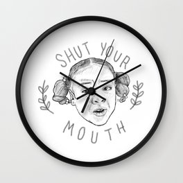 Erica Sinclair: Iconic Queen of Unapologetic Sass Wall Clock
