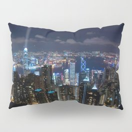 Hong Kong- Victoria Peak Pillow Sham