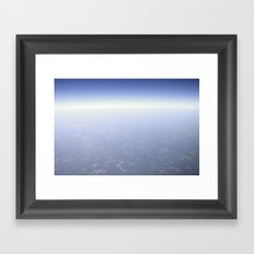 Way Up Framed Art Print