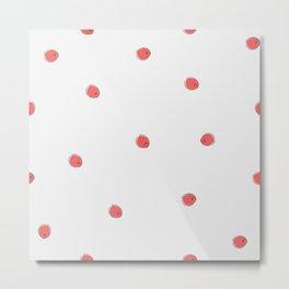 Winter Cherries Metal Print