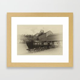 Cauldron Wagons Framed Art Print