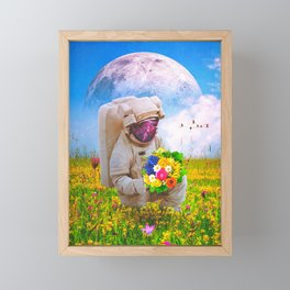 The Solitary Collector Framed Mini Art Print