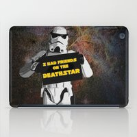 storm trooper iPad Cases featuring Storm Trooper by ZeebraPrint