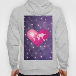 World Love in Universe Hoody