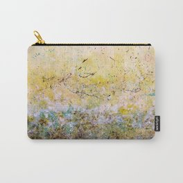 Abstract Art - First Bloom Carry-All Pouch