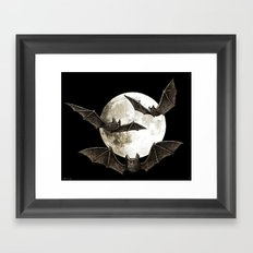 Creatures Of The Night Framed Art Print