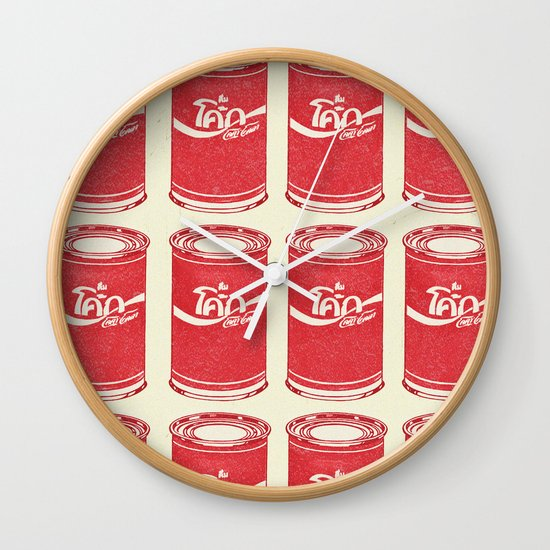 Not A Tomato Soup Wall Clock