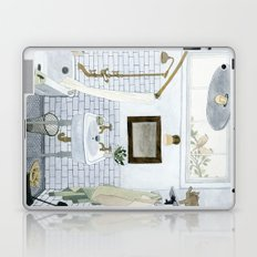 In The Bathroom Laptop & iPad Skin