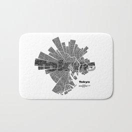 Tokyo Map Bath Mat