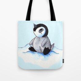Little Winter Fluffball Tote Bag