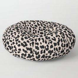 Tan Leopard Floor Pillow