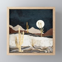 Desert View Framed Mini Art Print