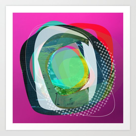 the abstract dream 4 Art Print