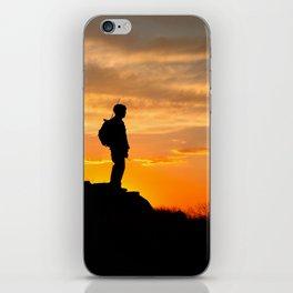 Sapper Sunset iPhone Skin