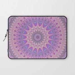 Beautiful detailed Mandala pink purple #mandala Laptop Sleeve