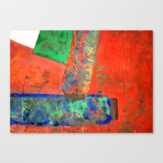 objects on display Canvas Print
